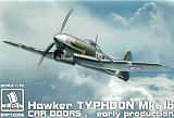 "BRENGUN 1/72 Hawker Typhoon MkI B ""cardoor"""