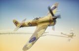 BRENGUN 1/72 Hawker Typhoon MkI cardoor desert
