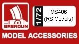 BRENGUN 1/72 Morane-Saulnier MS406