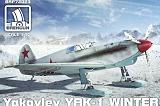 BRENGUN 1/72 Yakovlev YaK1 sur skis
