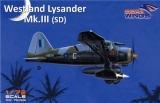 DORA WINGS 1/72 Westland Lysander MkIII