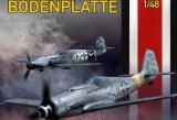 EDUARD 1/48 Bodenplatte: Fw190D9 et Bf109G14AS