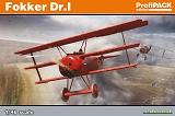 EDUARD 1/48 Fokker Dr-I Profipack