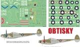 EDUARD 1/48 Lockheed P38F/G