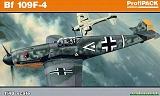 EDUARD 1/48 Messerschmitt Bf109F4 Profipack