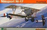 """EDUARD 1/48 Nieuport 17 """"Profipack"""""""