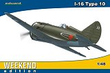 "EDUARD 1/48 Polikarpov I16 Type 10 ""week-end"""