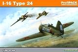 EDUARD 1/48 Polikarpov I-16 Type 24