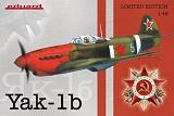 EDUARD 1/48 Yakovlev YaK1B