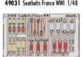 EDUARD 1/48 harnais France 1ere GM