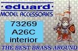 EDUARD 1/72 Douglas A26C intérieur