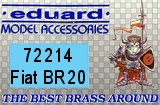 EDUARD 1/72 Fiat BR20