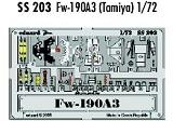EDUARD 1/72 Focke-Wulf Fw190A3