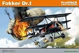 EDUARD 1/72 Fokker DR-I Profipack