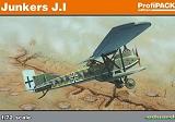 EDUARD 1/72 Junkers J-I Profipack