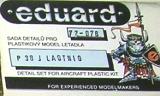EDUARD 1/72 Lockheed P38J