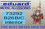 EDUARD 1/72 Martin B26B/C intérieur