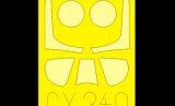 EDUARD 1/72 masques North-American P51D/F51