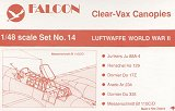 FALCON 1/48 Luftwaffe pt. 1