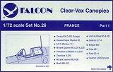 FALCON 1/72 France pt.1