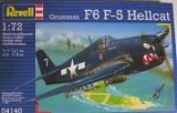 REVELL 1/72 Grumman F6F5