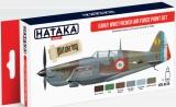 HATAKA acrylique France 1940/41