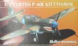 HELLER 1/72 Curtiss P40E