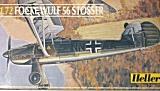 HELLER 1/72 Focke-Wulf Fw56 Stösser