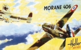 HELLER 1/72 Morane-Saulnier MS406
