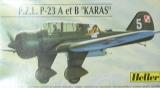 HELLER 1/72 PZL P23A/B