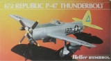 HELLER 1/72 Republic P47N Thunderbolt