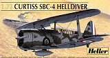 HELLER 1/72 Curtiss SBC4 Helldiver