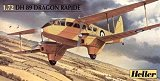 HELLER 1/72 De Havilland DH89 Dragon Rapide