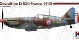 HOBBY 2000 1/72 Dewoitine D520 Armée de l'Air