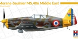 HOBBY 2000 1/72 Morane-Saulnier MS406 Middle East