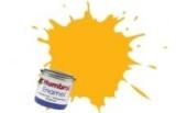 HUMBROL enamel 14ml HU154 jaune insigne FS33538