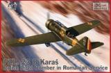 IBG MODELS 1/72 PZL P23B Roumanie