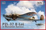 IBG MODELS 1/72 PZL P37B-II Roumanie