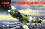 ICM 1/48 LaGG 3 Serie 1-4