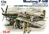 ICM 1/48 North-American P51B avec figurines