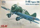 ICM 1/72 Polikarpov I-16 type 28