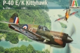 ITALERI 1/48 Curtiss P40E/K Kittyhawk