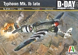 ITALERI 1/48 Hawker Typhoon MkIB late