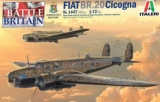 ITALERI 1/72 Fiat BR20 Cigogna Battle of Britain