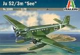 ITALERI 1/72 Junkers Ju52/3m See (hydravion)