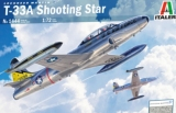 ITALERI 1/72 Lockheed T33A Shooting Star