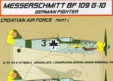 KORA 1/72 Messerschmitt Bf109G10 croate pt1