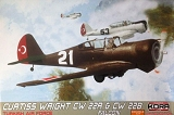 KORA 1/72 Curtiss-Wright CW22R/B Turquie