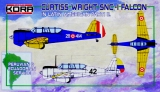 KORA 1/72 Curtiss-Wright SNC1 Pérou Equateur