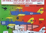 KORA 1/72 De havilland DH82 Portugal pt1